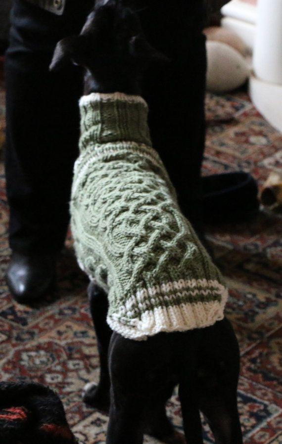 Whippet Sweater Pattern Crochet Dog Sweater Knitted Dog