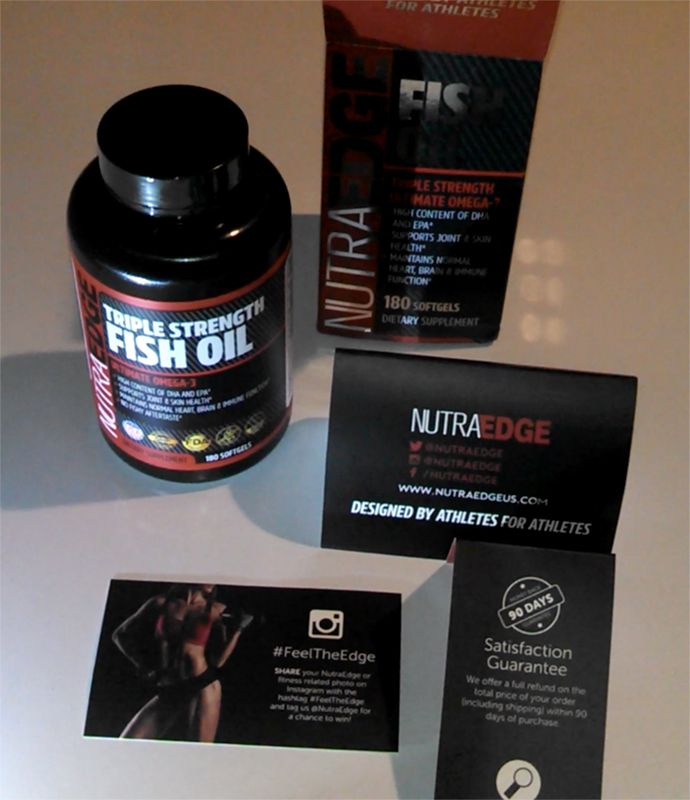 #NutraEdge Fish Oil Triple Strength Omega-3 Capsules Review: https://youtu.be/XBTXlGKTGMg Buy: http://amzn.to/2sIQYi0