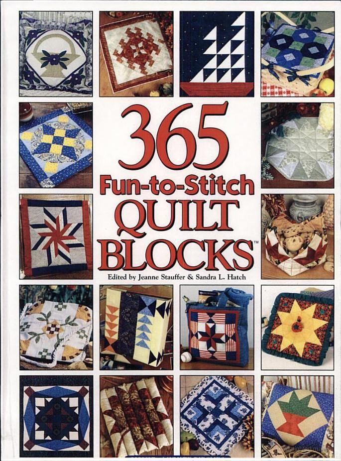 365 Fun-to-stitch Quilt Blocks - Google Books