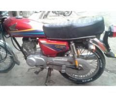 Honda 125 Fully Maintained All Documents Original For Sale In Lahore