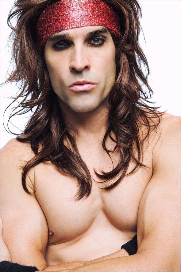 Holy hotness!!! Satchel from Steel Panther