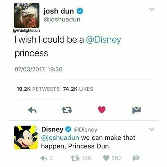 ALL HAIL PRINCESS DUN. Now Tyler can't kick him out of the band because he outranks him XD