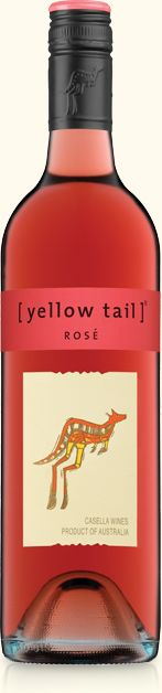I just want to drink the whole thing! Rosé | yellow tail wine