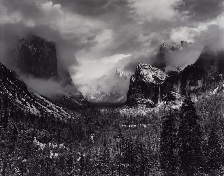 an analysis of ansel adams works in photography Robert adams has photographed the adams uses photography to express his love for the edward weston, dorothea lange, and ansel adams--who often merged their.