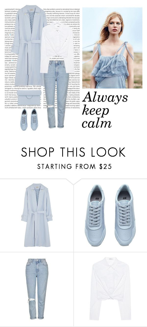 """""""Calmness"""" by dorey on Polyvore featuring Temperley London, Topshop, T By Alexander Wang and Roksanda"""