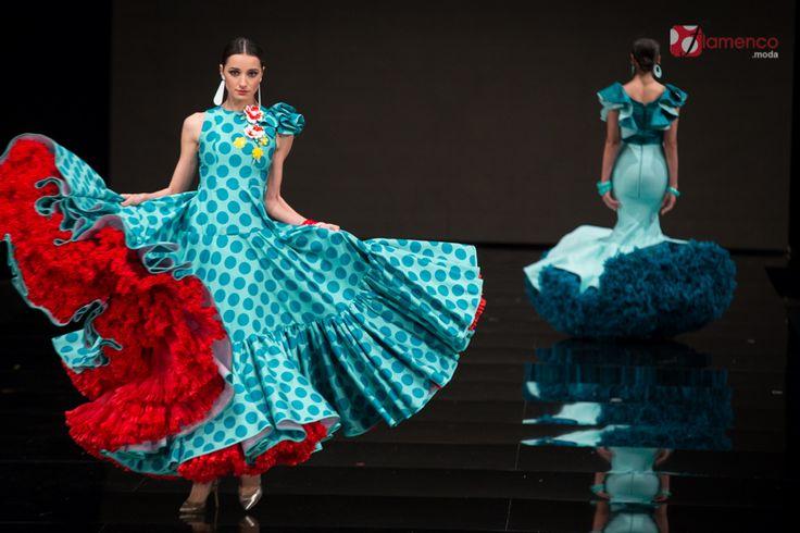"Pedro Béjar – ""¡Mira mujé!"" – Simof 2017 | Moda Flamenca - Flamenco.moda"
