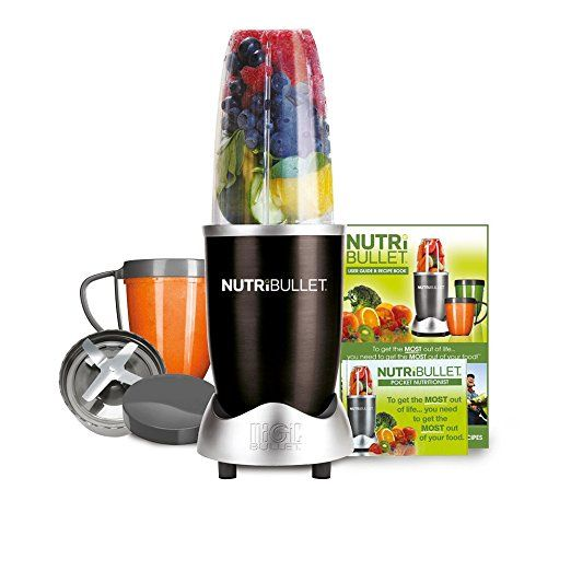 NutriBullet 600 Series Blender, 600 W, 8-Piece set, Black: Amazon.co.uk: Kitchen & Home