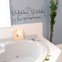 bubbles bubbles everywhere wall stickers decal