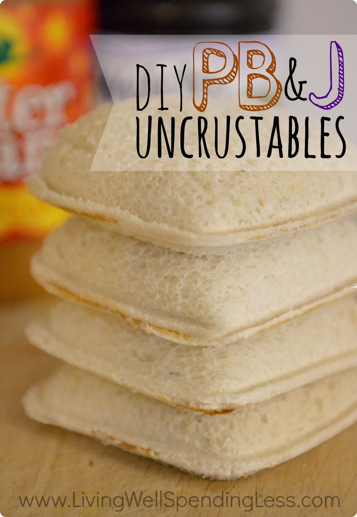 Need a little relief from hectic mornings? These copycat Uncrustable PBJ sandwiches not only taste better than the store-bought version, they cost only a fraction of the price. Whip up a big batch on the weekends, then freeze for quick easy lunches all week long!