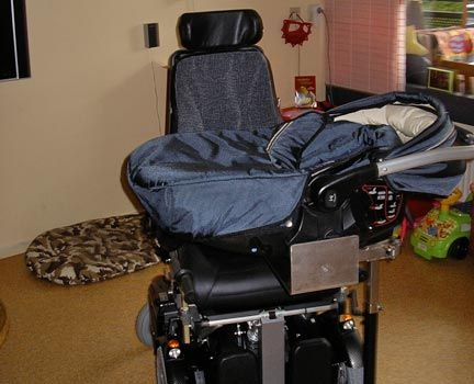 John Moonen Draagbeugelsysteem voor rolstoelen (Bracket System carrycot for wheelchairs)
