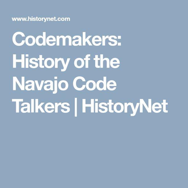 Codemakers: History of the Navajo Code Talkers | HistoryNet