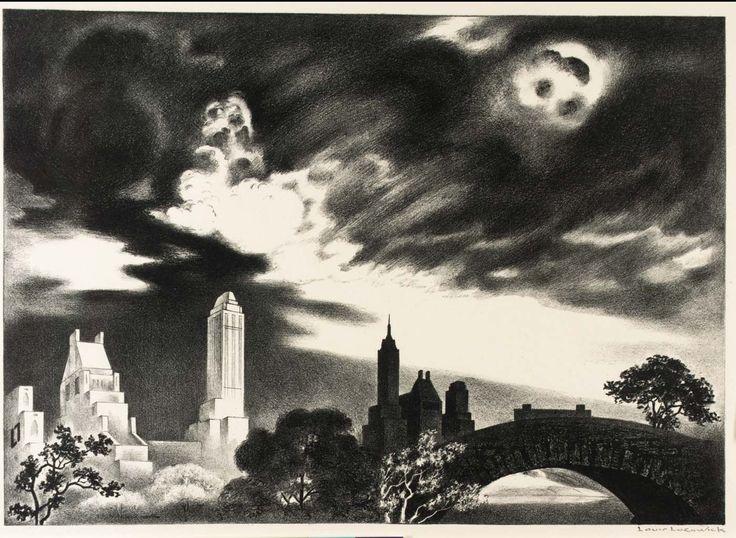 Louis Lozowick - Angry Skies (1935)