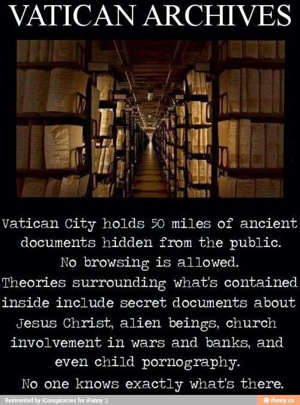 Vatican Secrets, Conspiracy, Vatican