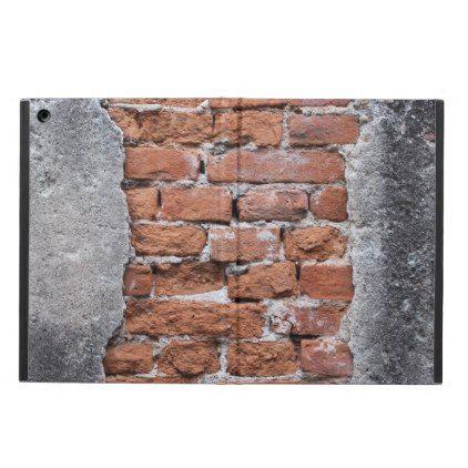 Brick wall iPad air cover - personalize gift idea diy or cyo