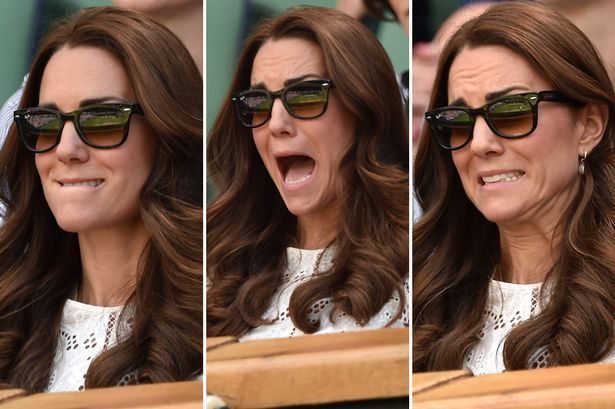 The stunning Kate Middleton sporting her famous Ray-Ban sunglasses at Wimbledon. Not good news for Andy Murray, but great news for Ray-Ban! Let the Ray-Ban frenzy begin here: http://www.blazesunglasses.com/ray-ban-sunglasses.html