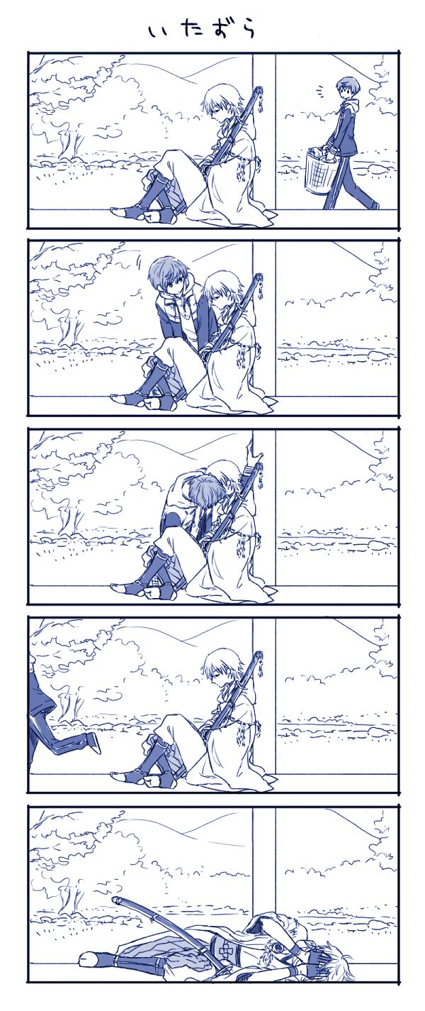 「鶴丸と一期過去ログ」/「entn」の漫画 [pixiv]