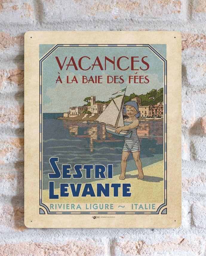 Sestri Levante   TARGA   Vimages - Immagini Originali in stile Vintage