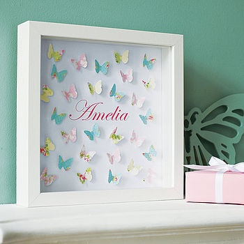 If we ever have a baby girl, this would be great in the woodland themed nursery!