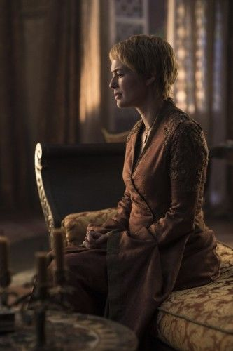 Cersei receiving news that her only daughter has died. Game of Thrones Season 6 Episode 1