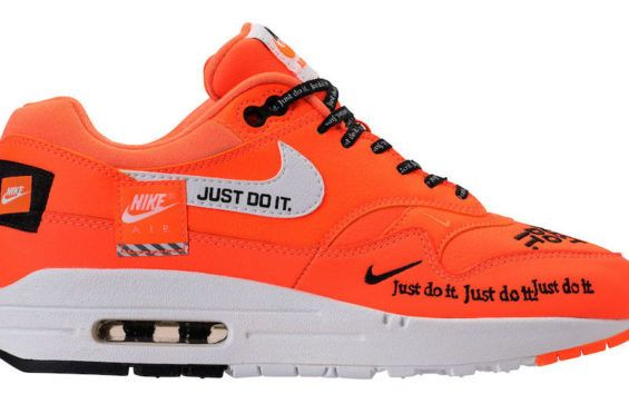 Nike Air Max 1 Lux Just Do It Total Orange Dropping Next Month Sneakers Sneakers Men Fashion Nike Air Max