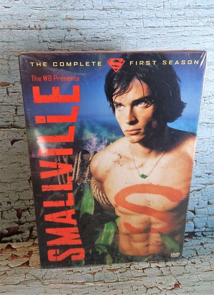 $12.99 Smallville Complete First Season DVD TV Series 6-Disc Set 20 episodes Clark Kent  #smallville #superman #tvseries