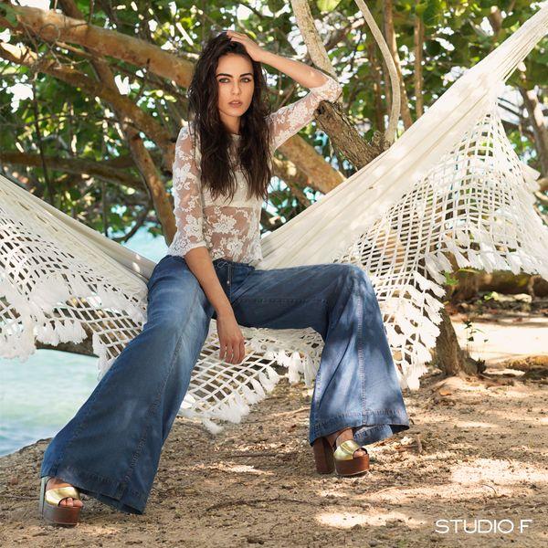 El denim se ha convertido en el textil más versátil, el #PerfectMatch para cualquiera de tus looks. #StudioFCaracas