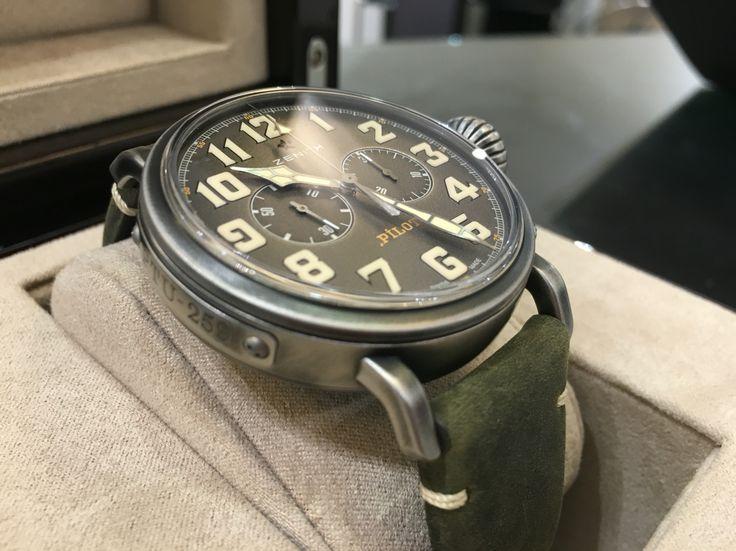 Zenith Heritage Pilot Café Racer