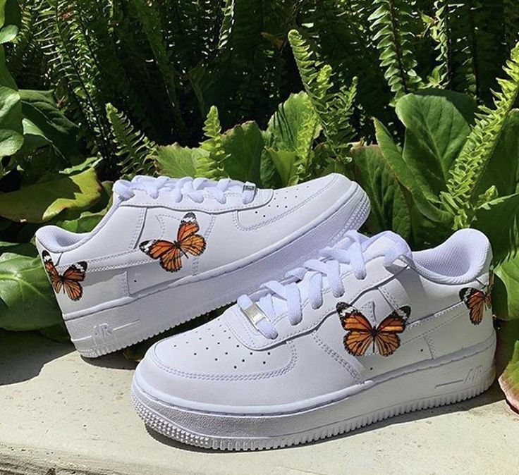 butterfly nike air forces Nike shoes air force, Custom
