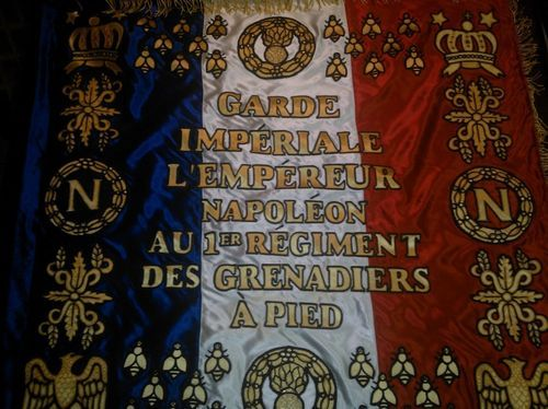 Napoleon Imperial Guard Battle Flag