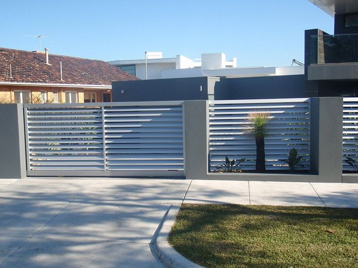 37 best Wall fence and gates images on Pinterest | Doors, Facades ...