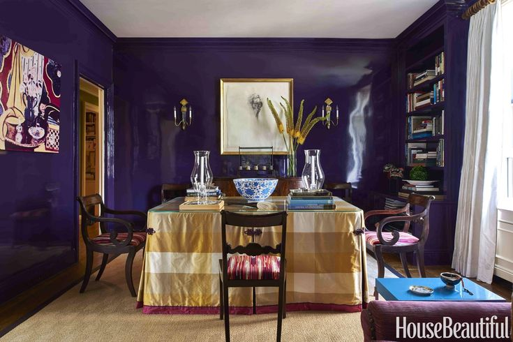 20 Regal Purple Rooms Fit for Royalty. Decoration Trends 2017