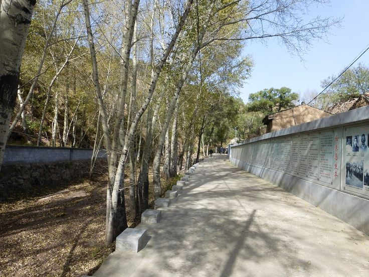 Yangjiazhuang: this very historic village has a long wall depicting, through photos and text, the lives of Dr. Norman Bethune and other heroic individuals who helped save China from foreign aggressors (the Japanese).