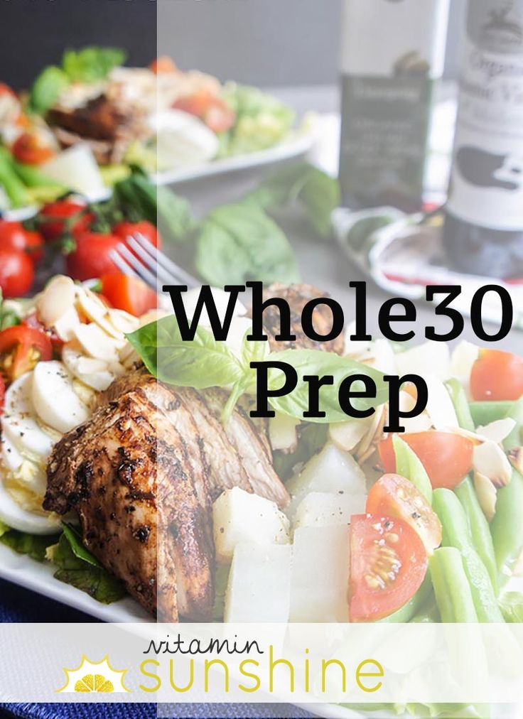 Whole30 Prep- meals ideas if you're starting the Whole30, or if you'd just like a collection of super healthy meal ideas!
