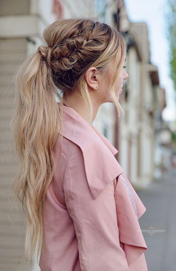 peinados fciles de hacer para el diario
