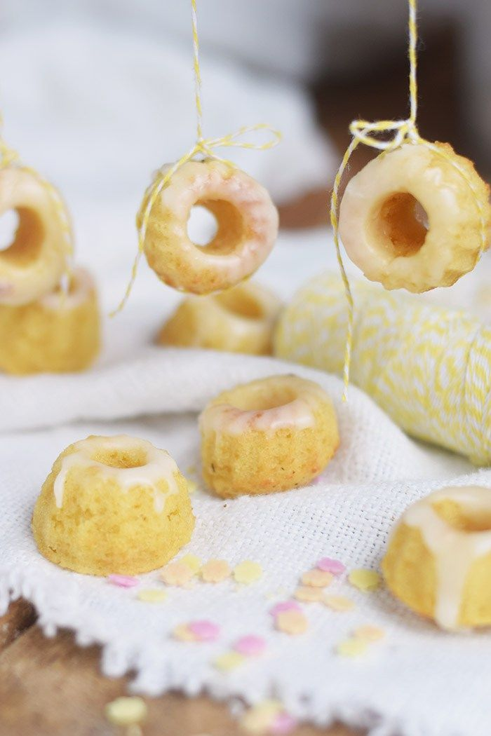 Maracuja Mini Gugl - Passion Fruit Mini Bundt Cakes   Das Knusperstübchen