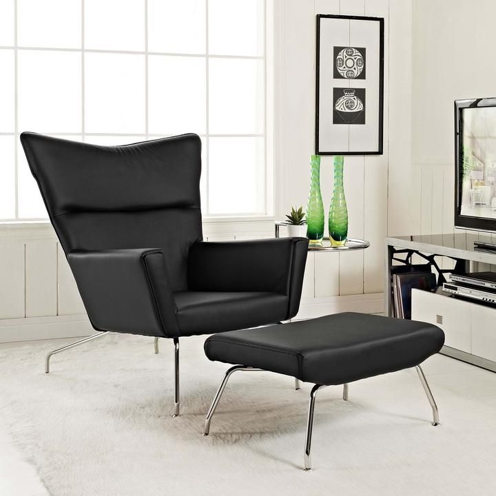 CLASS LEATHER LOUNGE CHAIR IN WHITE  Mocofu 76 best Modern Lounge Chairs Chaises images on Pinterest