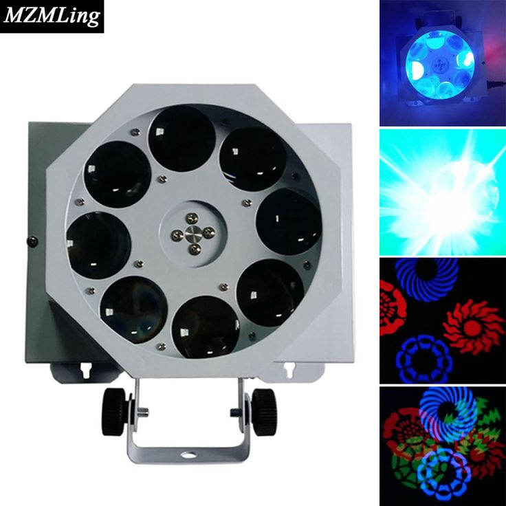 Led 3x8w Spot Light DMX512 Effect Light Professional DJ /Bar /Party /Show /Stage Light LED Stage Machine