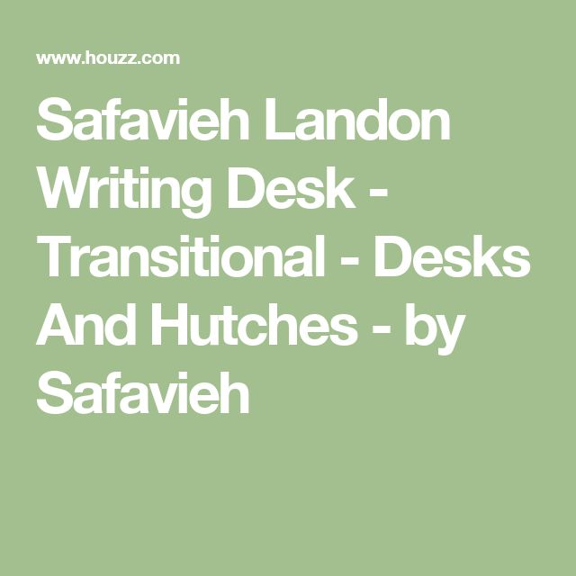 Safavieh Landon Writing Desk - Transitional - Desks And Hutches - by Safavieh