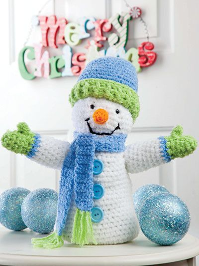Crochet Christmas is a book of tree trims and festive holiday decor, all stitched using thread and a variety of different yarn weights. A great holiday project book for crocheters of all skill levels.