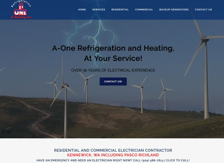 New #Electrician website with lightning bolt View at https://www.tricitieselectrician.com/