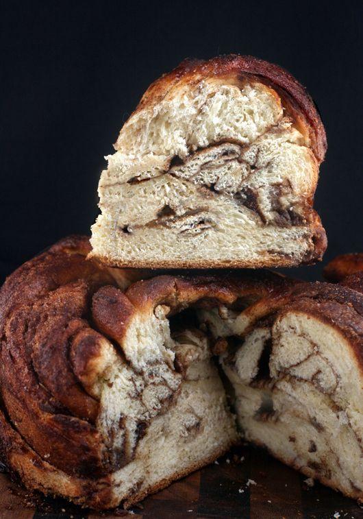 Vanilla Bean Brown Butter Cinnamon Swirl Challah Twist