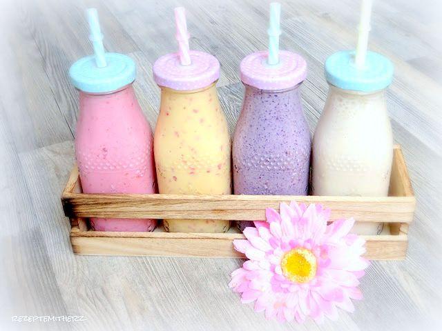 Rezepte mit Herz   ♥: 28 Smoothie und Shake Rezepte