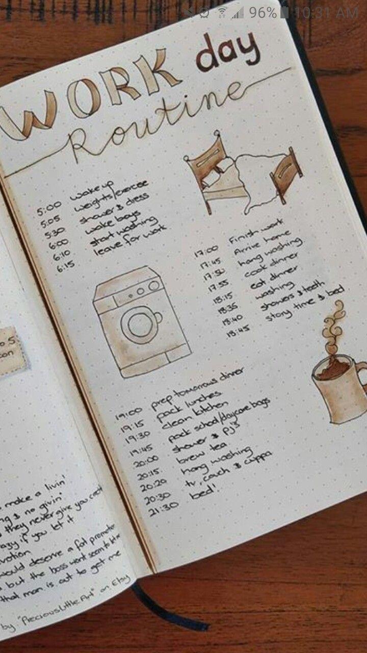 Einfache Ideen für das Bullet Journal zur Vereinfachung Ihrer täglichen Aktivitäten #bulletjournal #bull