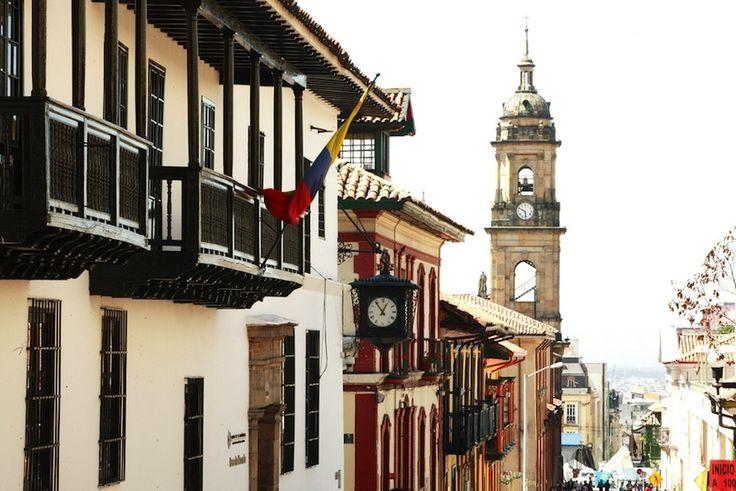 Centro Histórico de La Candelaria en Bogotá