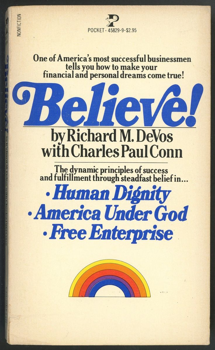 believe! (1975) richard devos, an enormous shitdick in his own right, is of course betsy's dad