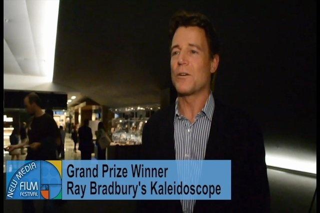Brett Stimely Star of Ray Bradbury's Kaleidoscope speaks on Grand Prize Win
