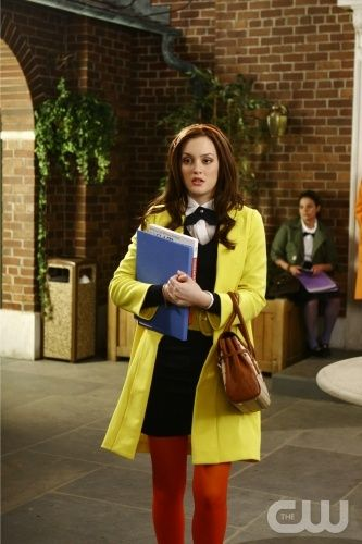 School Uniform Inspiration from Gossip Girl