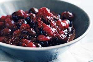 Chilled Pineapple-Cranberry Relish Recipe | Real Simple