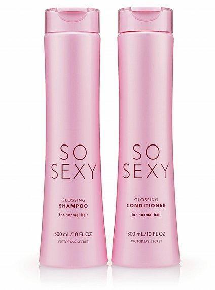 I'm obsessed with Victoria's Secret shampoo/conditoner. So sexy smells amazing!