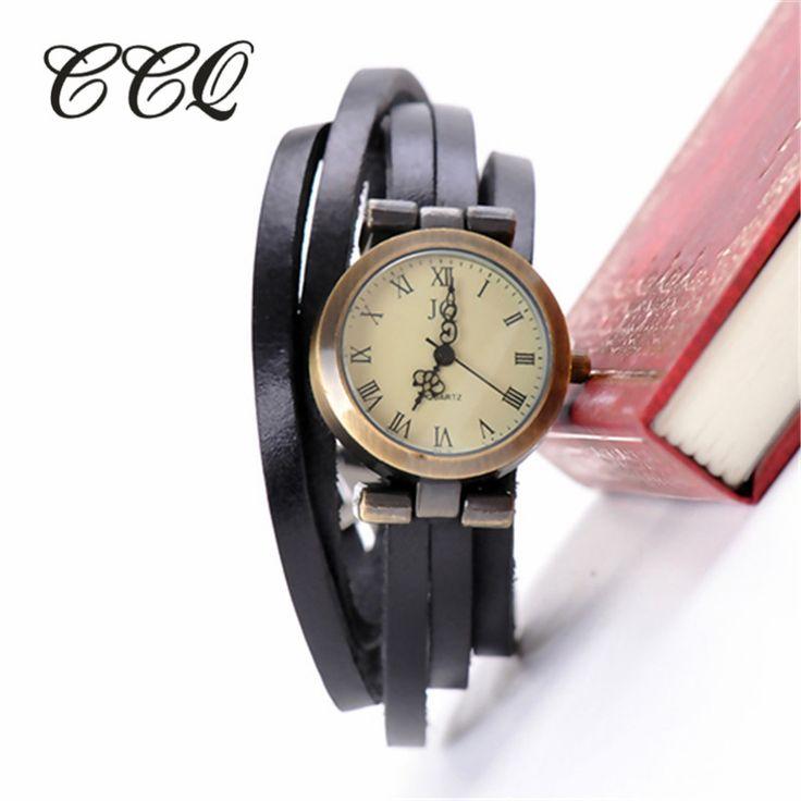 Restoring Women Long Band Vintage Multi Layers Real Leather Watch Girl Brand Vitange Clock Women Dress Watch W1319-in Women's Watches from Watches on Aliexpress.com   Alibaba Group